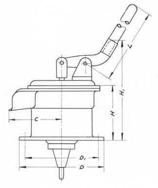 Skibspumpe model 838